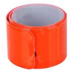 Световозвращающий браслет оранжевый
