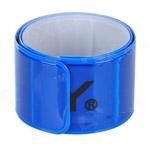 Световозвращающий браслет синий