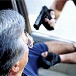 Разбойное нападение на водителя