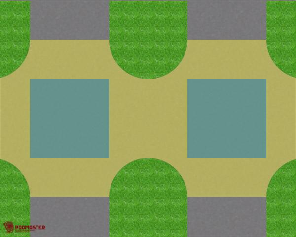 2 пересечения проезжих частей