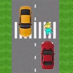 Пешеход напереходе