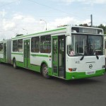 Автобус с гармошкой. Похожий участвовал в ДТП 19.10.2009