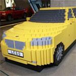 Автомобиль созданный из конструктора лего
