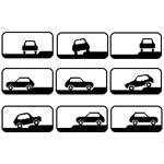 Особенности остановки и стоянки автомобилей на околотротуарной стоянке