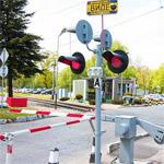 Движение путем железнодорожный переезд