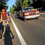 Лишение водительских прав за обгон велосипедиста или водителя мопеда.