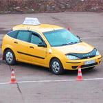 Восстановление навыков вождения на учебном автомобиле