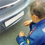 Запрещение эксплуатации автомобиля (снятие номеров)