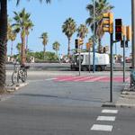 Пешеходный переход в Испании