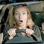 Напуганный водитель