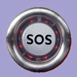 Кнопка вызова экстренных оперативных служб