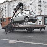 Эвакуация за неправильную парковку