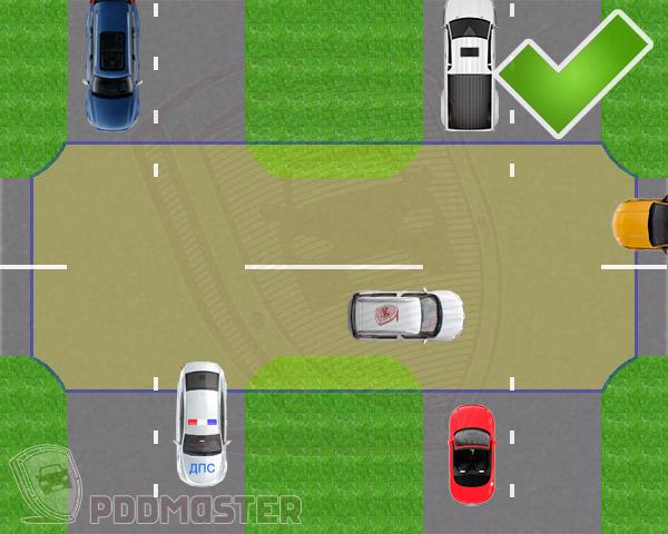Правила дорожного движения перекрестки