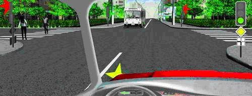 Правила проезда перекрестков с трамваями