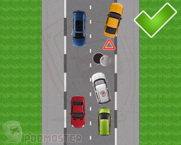 Правила разъезда на узкой дороге