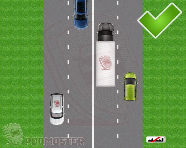Штраф за езду задним ходом по автомагистрали