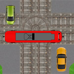 Трамвай наперекрестке
